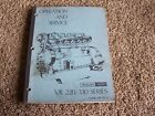 Waukesha Dresser VR 220 330 Deisel Engine Operation Service Shop Repair Manual