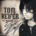 TOM KEIFER of CINDERELLA The Way Life Goes Signed CD Booklet LAST ONE!