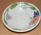 Boch AMAPOLA Blue Purple Flowers Soup Cereal BOWL Germany AS IS!