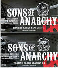 Sons of Anarchy 1-3 - 2 (TWO) Factory Sealed Trading Card Boxes Cryptozoic