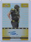 KH) 2016 Leaf Army TOMMY KRAEMER Gold Superfractor Auto RC 1 1 *Notre Dame