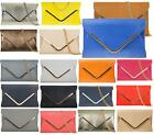 LADIES PROM PARTY EVENING ENVELOPE SHAPE SMALL FORMAL WEDDING DRESSY CLUTCH BAGS