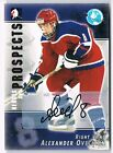 2004-05 ITG HEROES AND PROSPECTS AUTOGRAPH #A-AO4 ALEXANDER OVECHKIN !!