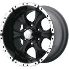 17x9 Black Helo HE791 5x55 12 Rims Toyo Open Country AT II P265 65R17