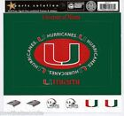 University of Miami Scrapbooking Sticker FRAMES