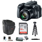 Canon PowerShot SX60 HS 161MP Digital Camera + 32GB Accessory Bundle