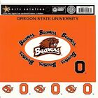 SS Oregon State University Scrapbooking Stickers FRAMES