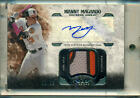 2016 Topps Tier One MANNY MACHADO AUTO 3-COLOR PATCH #80 99 ORIOLES