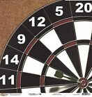 Scrappin Sports Throwing Darts Scrapbooking Paper 1168 Double Sided Dartboard