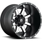 Fuel Maverick D537 20x12 5x1397 5x55 5x150 44mm Machined Black Wheels Rims