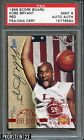 1996-97 Score Board Red Kobe Bryant Lakers RC Rookie AUTO 390 PSA DNA PSA 9
