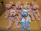 Lot of 10: TY Independence Day July 4th beanie buddies USA & America  new w/tags