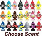 6 10 24 Little Trees Hanging Air Freshener Choose Scent Car Truck RV Home Office
