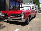 Pontiac GTO Convertible 1966 pontiac gto convertible 4 speed all numbers matching origina very clean