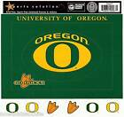 SS University of Oregon Scrapbooking Stickers FRAMES