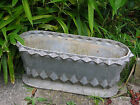 Rare Antique ART DECO NOUVEAU Cast Iron French GARDEN JARDINIERE PLANTER POT