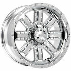 Gear Alloy 723C Nitro 20x9 5x1397 5x150 +18mm Chrome Wheels Rims