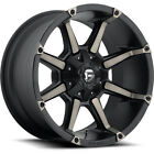 20x10 Black Fuel Coupler 5x55  5x150 12 Wheels Open Country RT 33 Tires