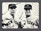 1981 SAN DIEGO SHOW Promo Card #18 Bill Dickey & Lou Gehrig NM-MINT HOF