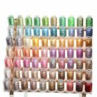 70 Spools Variegated Shading Embroidery Machine Thread 70 Different Colors