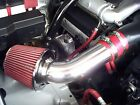 01 04 Chevy Tracker 25 L4 Short Ram Air intake Kit +RED FILTER