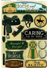 FC Karen Foster Horse and Rider Scrapbooking Stickers 11605