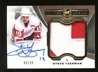 2014-15 UD The Cup LIMITED LOGOS Steve Yzerman PATCH AUTO 5 10 Detroit Red Wings