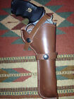 SW 586 686 Ruger GP100 Colt King Cobra Taurus 357Mag 6 Leather Field Holster