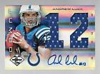 ANDREW LUCK 2012 PANINI LIMITED 11 49 AUTO PATCH RC JUMBO