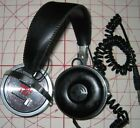 Vintage 80's SIC Sonic 101 On-Ear Stereo Headphones with  Volume Controls