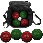 9 Piece Bocce Ball Set with Easy Carry Nylon Bag
