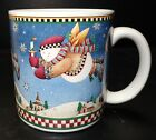 Sakura Debbie Mumm Snow Angel Village candle mug