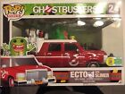 SDCC 2016 Exclusive Funko Pop Rides Ghostbusters Ecto 1 With Slimer Limited Ed.