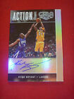 2015-16 Gala Action Autographs Kobe Bryant Autograph Auto On Card Lakers 40