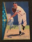 Tom Glavine Cards, Rookie Cards and Autographed Memorabilia Guide 12