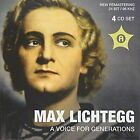 MAX LICHTEGG: A VOICE FOR GENERATIONS USED - VERY GOOD CD