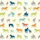 Birch 100% Organic Fabrics - Farm Fresh FF 02 The Champion Horse BTY