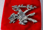 Thats All Folks Warner Brothers Bugs Bunny 1994 Pin Velveteen Pouch Jewelry