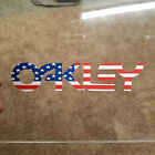 Oakley Logo American Flag Decal Sticker Ski Snowboard Goggles Retro