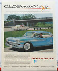 Vintage 1958 magazine ad for Oldsmobile Super 88 geared for performance