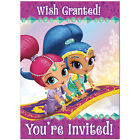 SHIMMER AND SHINE INVITATIONS Birthday Party Supplies Invites Card Stationery