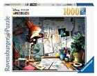 RAVENSBURGER DISNEY PIXAR JIGSAW PUZZLE THE ARTIST'S DESK 1000 PCS #19432