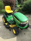 2007 JOHN DEERE LA130 Automatic Riding Lawn Mower 48 Edge Cutting Mulching Deck