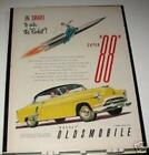 1951 Oldsmobile 88 Holiday Coupe car Ad
