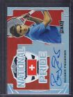 2016 Leaf Metal Tennis National Pride #NP-RF1 Roger Federer Auto