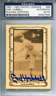 Carl Hubbell Autographed 1980 Pacific Legends Card (PSA)