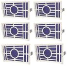 Air Filter for Whirlpool W10311524 AIR1 Refrigerator 6 Pack Fresh Flow Filters