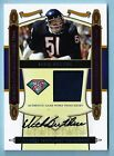 DICK BUTKUS 2008 NATIONAL TREASURES 75TH ANNIVERSARY GAME WORN PATCH AUTO 10 10