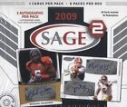 2009 Sage Hit Low Series Football Checklist 5