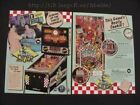 Diner Williams Pinball Flyer Mint / Original Brochure